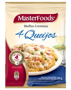 Molho 4 Queijos  MASTERFOODS®