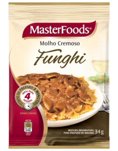 Molho Funghi MASTERFOODS®